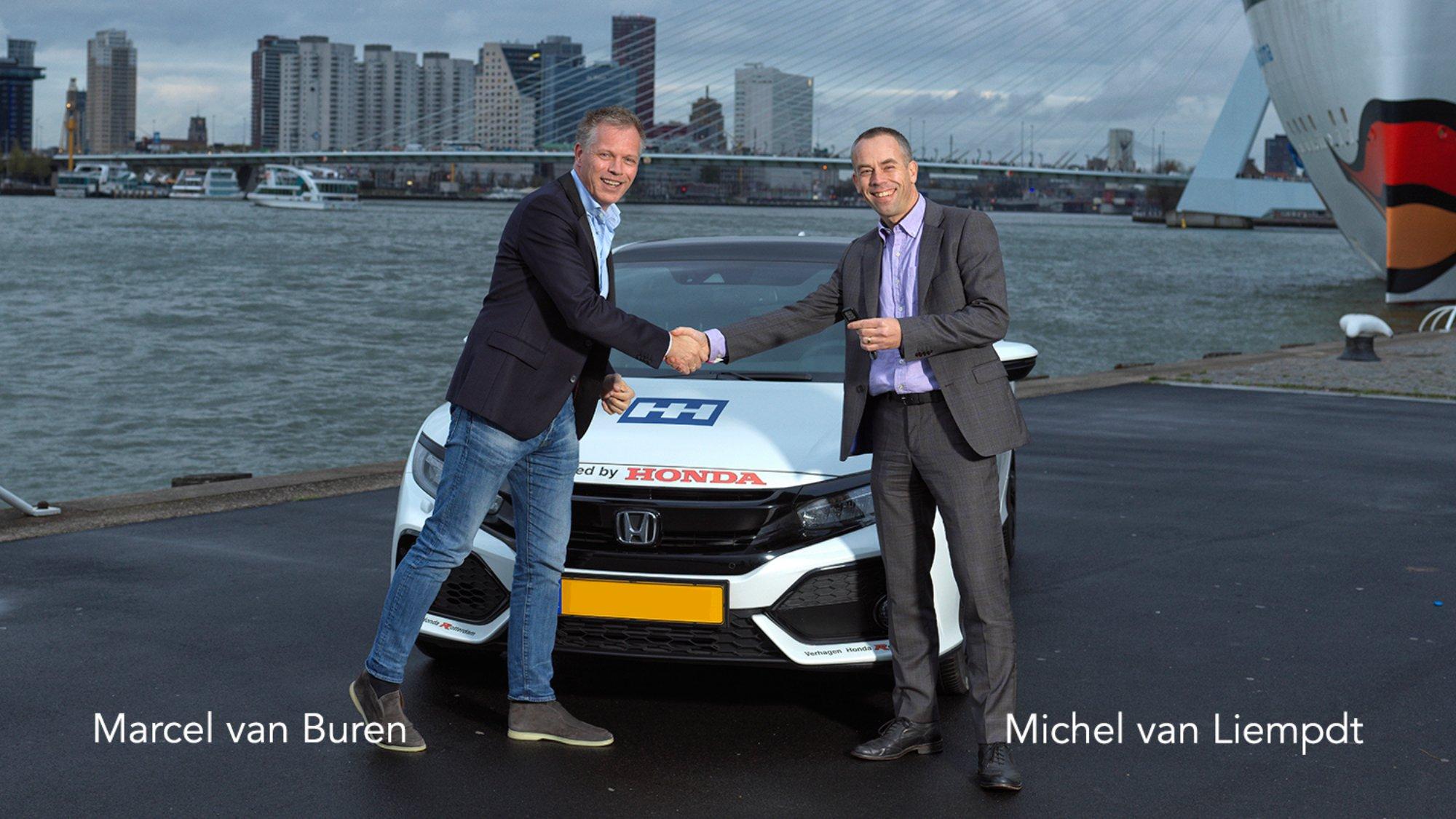 Honda Benelux en SHH Productions gaan samenwerking aan