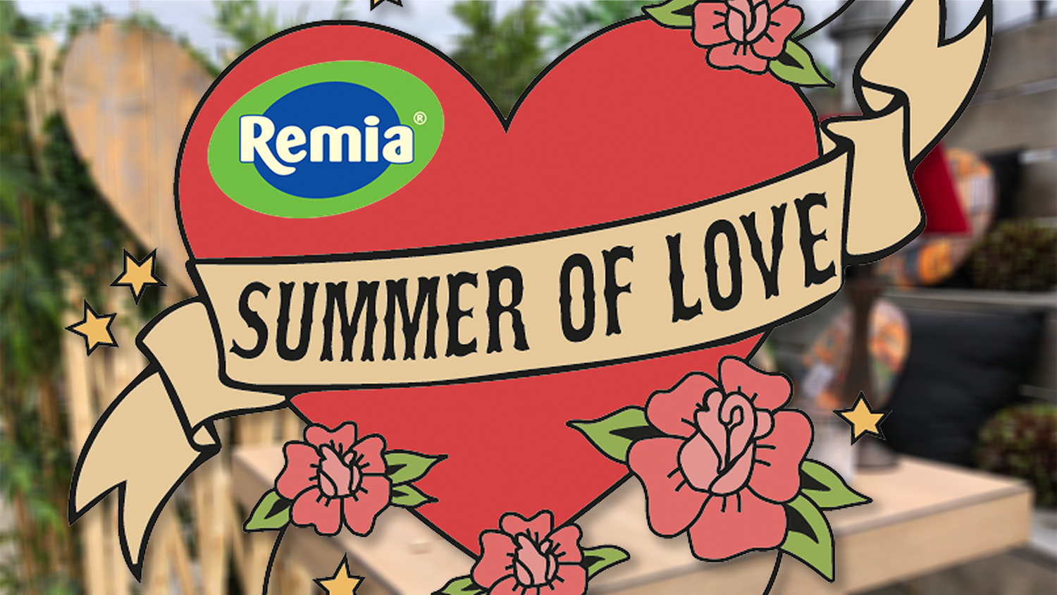 Remia viert Summer of Love