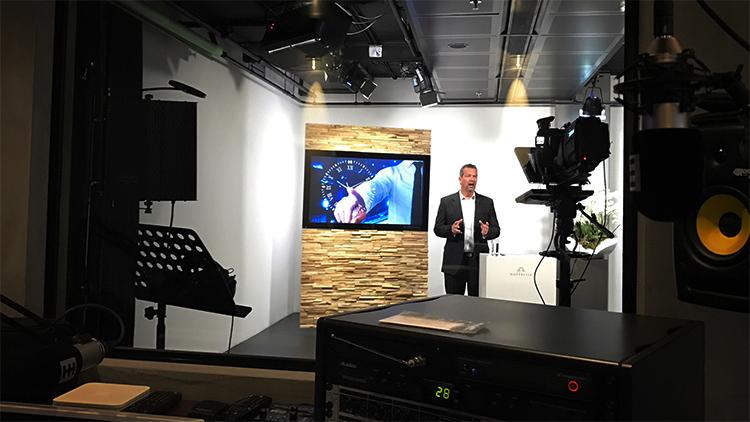 Videostudio trainingsvideo SHH Productions Rotterdam