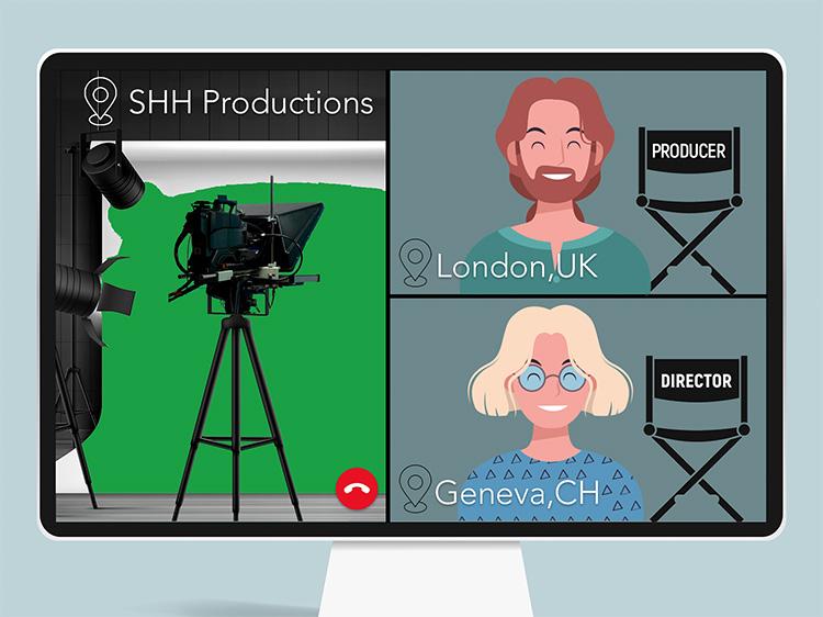 SHH Productions livecast solution opnamestudio