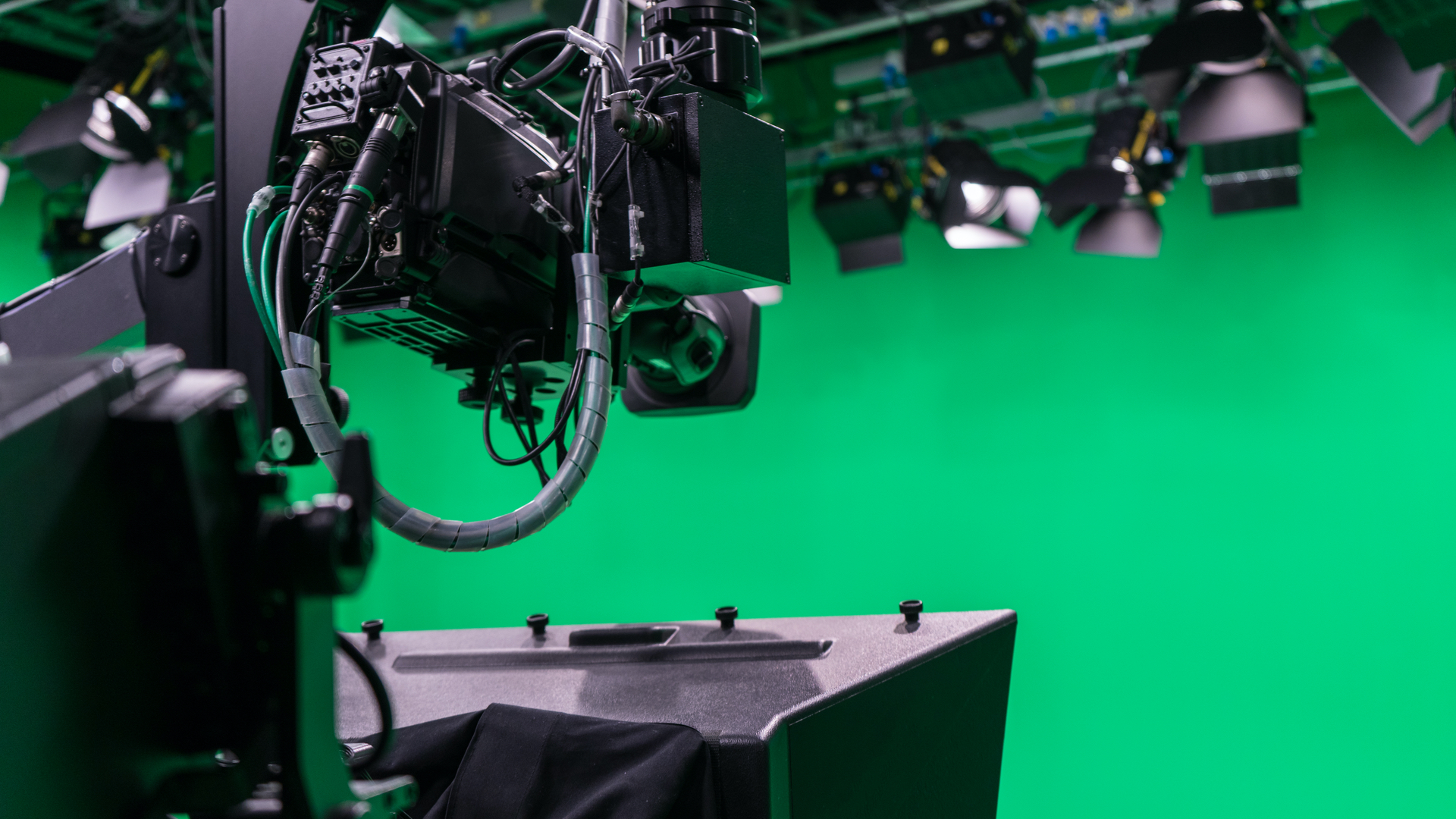SHH Productions televisiestudio 3 green screen