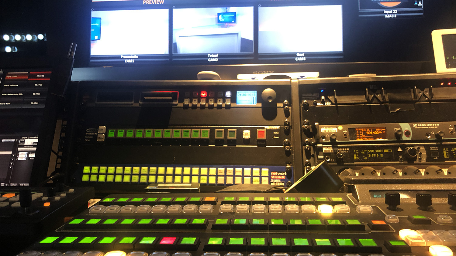 SHH Productions_studio_webcast_multicam_regie_1