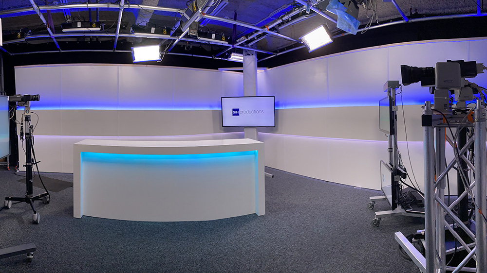 Webcast studio Zuid-Holland