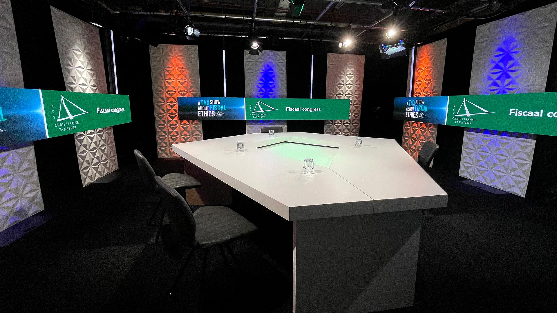 SHH Productions online talkshow studio Rotterdam